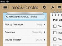 MobisleNotes for iPad