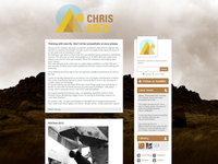 Chris Seed Blog Design