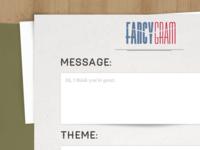 FancyGram Desktop Experience.