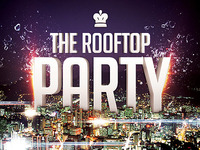 Rooftop Party Flyer