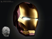 IronMan 3D Icon