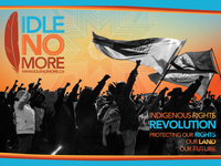 'Idle No More' Poster