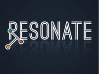 Resonate: logo