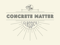 The Concrete Matter Classics