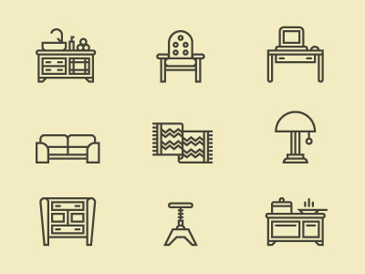 Furniture-icons