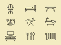 More Furniture Icons