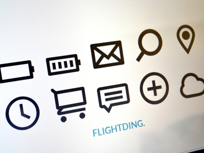 Download Flightding: free icon font