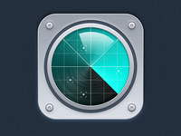 FriendMonitor icon. Ver.1