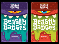 Beastly Badges Labels
