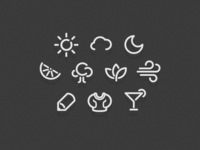 Commodity Icon Set