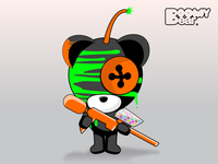 Paint Ball Boomy Bear
