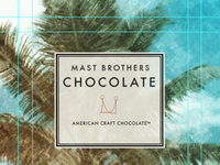 Mast Brothers Chocolate Wrapper