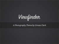 Viewfinder WordPress Theme