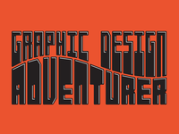 Graphic Design Adventurer