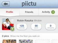 Piictu: User Profile