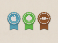 Download badges