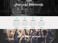 The Image Church website