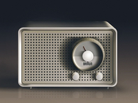 Vectorish Braun radio (<3 Dieter Rams)