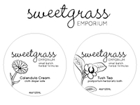 Sweetgrass Emporium Product Labels