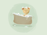 Bubble Bath Bear