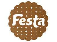 Logo for the confectionery brand Festa