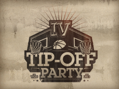 Tip Off Party Concept