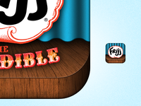 Frijj Incredible - App Icon Detail