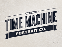 Time Machine Portrait Co. Logo