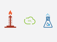 Petroleum, Industrial & Environmental Icons