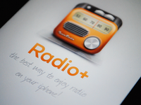 Radio App Splash Screen (@2x)