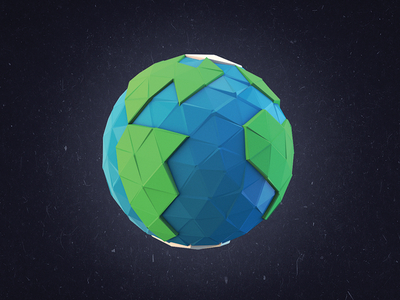 Happy Earth Day! - Low-Poly