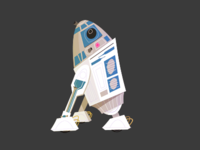 R2D2 Illustration
