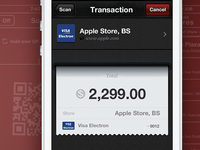 Payment System App Interface Design