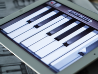 'Go! Piano' Music App UI