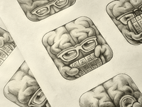 Cryptex App Icon Sketches