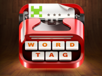 WordTag Game App Icon