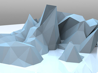 Low poly experiments