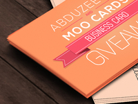 Abduzeedo and Moo Cards Giveaway