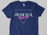 T-Shirt Concept for Montreal Meets 3