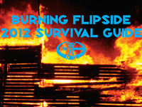 Cover for Burning Flipside 2012's Survival Guide