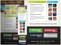 Responsive Website for Martell's Tiki Bar