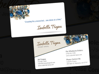 Isabella Tropea Designer Jewelry Business Cards
