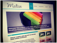 """Matise"" WordPress Theme"