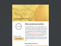Weddings Email Template