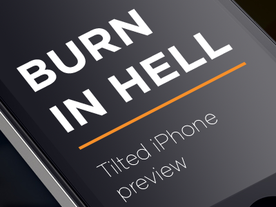 Burn-in-hell