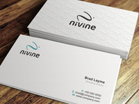 nivine Business Card