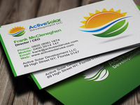 Active Solar Business Cards