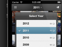 Decoupling View & Year Navigation