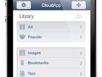 Cloud for iPhone