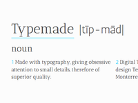 Typemade, March 16, 2012 —save the date—